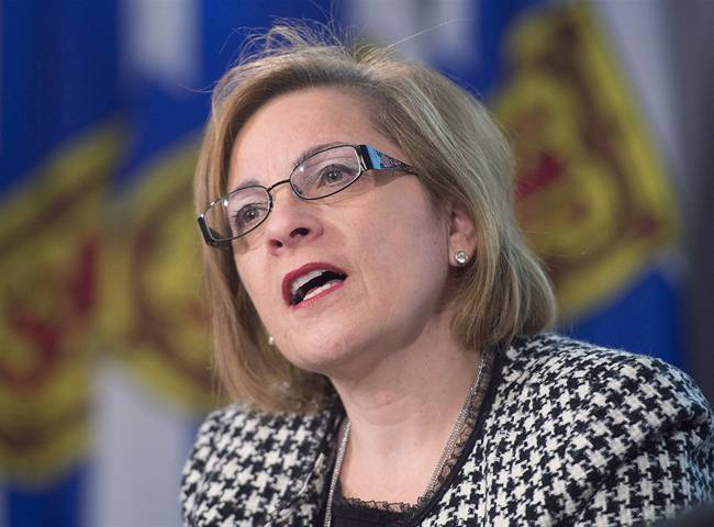 FILE - Nova Scotia Immigration Minister Lena Diab.