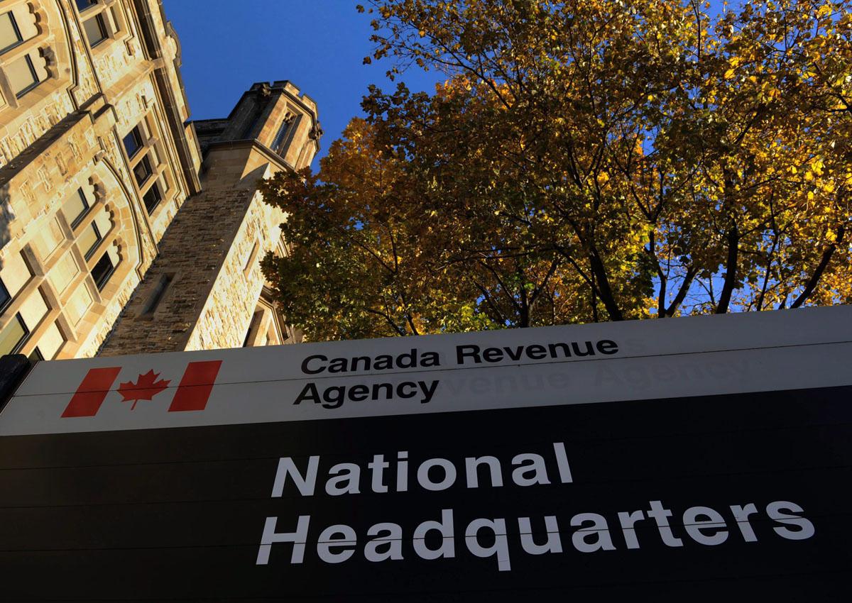 The Canada Revenue Agency headquarters in Ottawa.