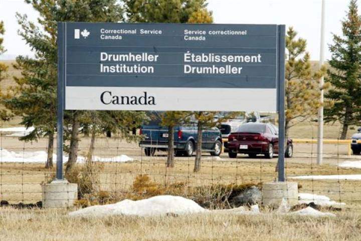 A file photo of Drumheller Institution.