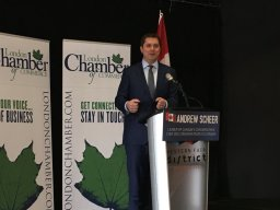 Continue reading: Conservative Leader Andrew Scheer visits London in southwestern Ontario swing