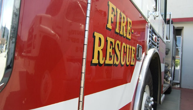 One man was airlifted to a trauma centre following an explosion in a detached garage near Guelph on Sunday.