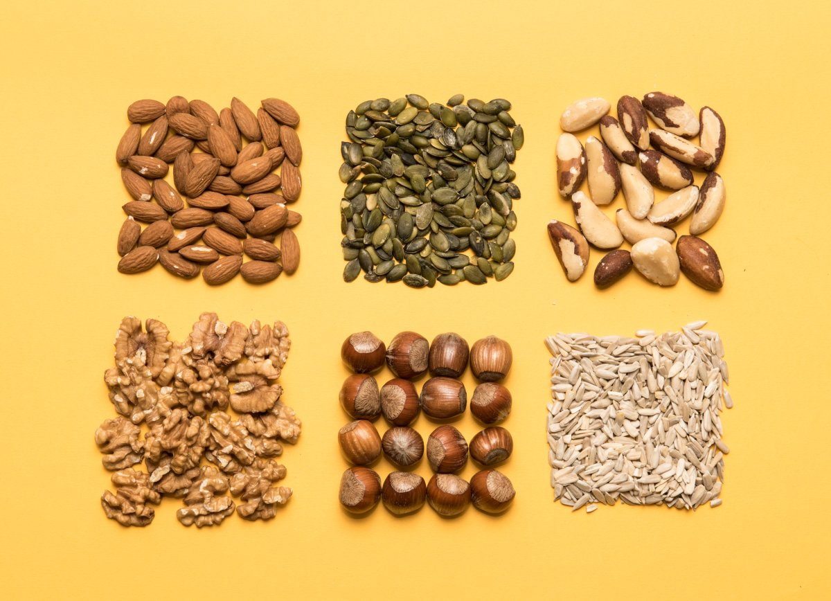 What do healthy portions of nuts and seeds look like? Two experts give us the best ways to add nuts and seeds to our diet.