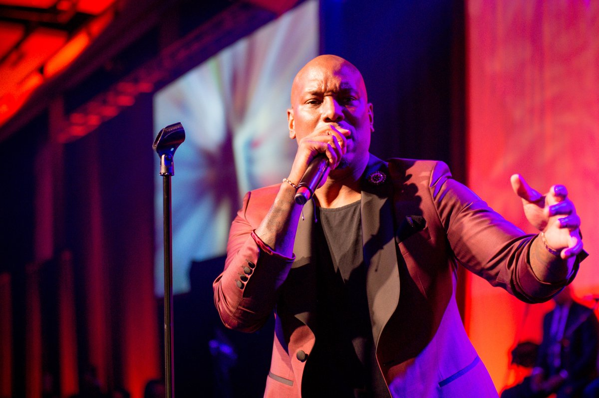 Tyrese Gibson performs onstage during the 34th Annual UNCF Atlanta Mayor's Masked Ball at Atlanta Marriott Marquis on Dec. 16, 2017 in Atlanta, Georgia.
