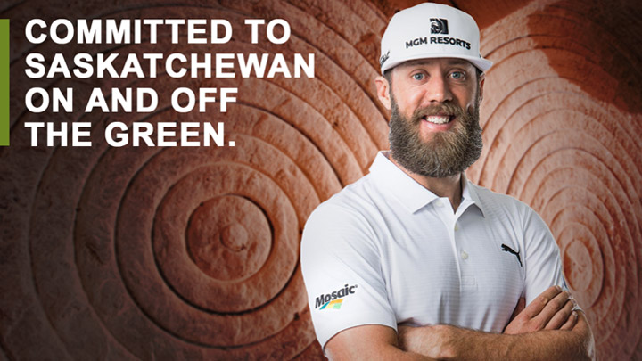 Graham DeLaet will be wearing the Mosaic logo at PGA Tour events after signing a sponsorship deal with the Regina-based company.