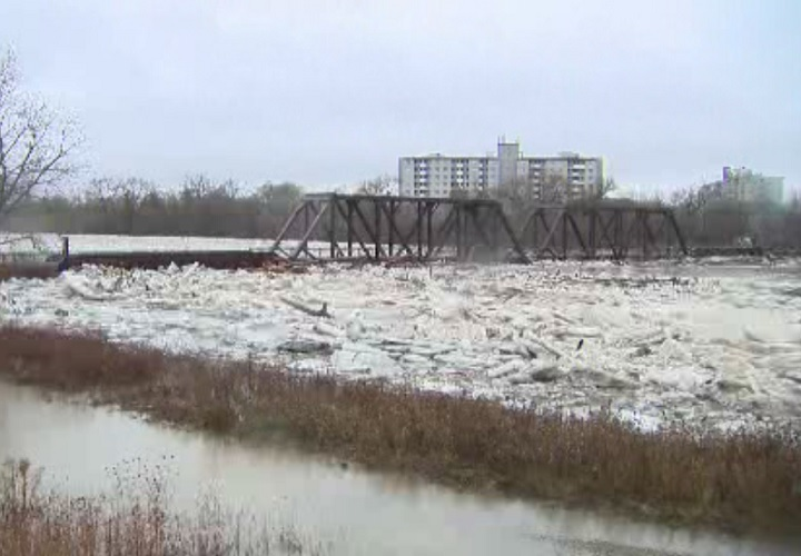 The City of Brantford was under a state of emergency due to flooding on Feb. 21, 2018.