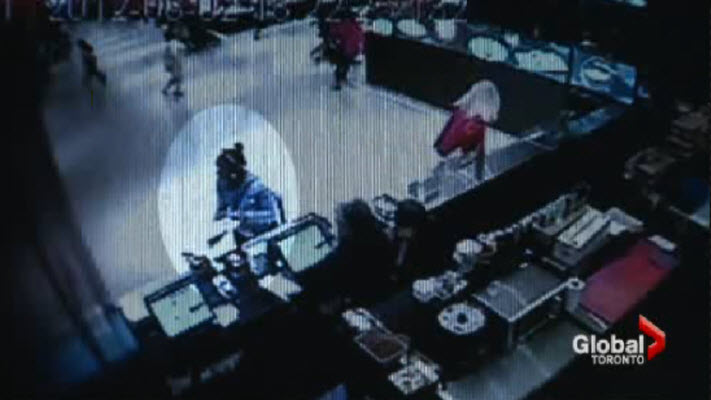 Wed, Oct 15: Video shows Christopher Husbands opening fire in mall food court, killing two men and causing injury to five bystanders.