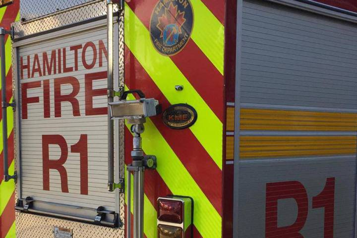 Firefighters were called to the Ponderosa trailer park for an unknown fire situation.