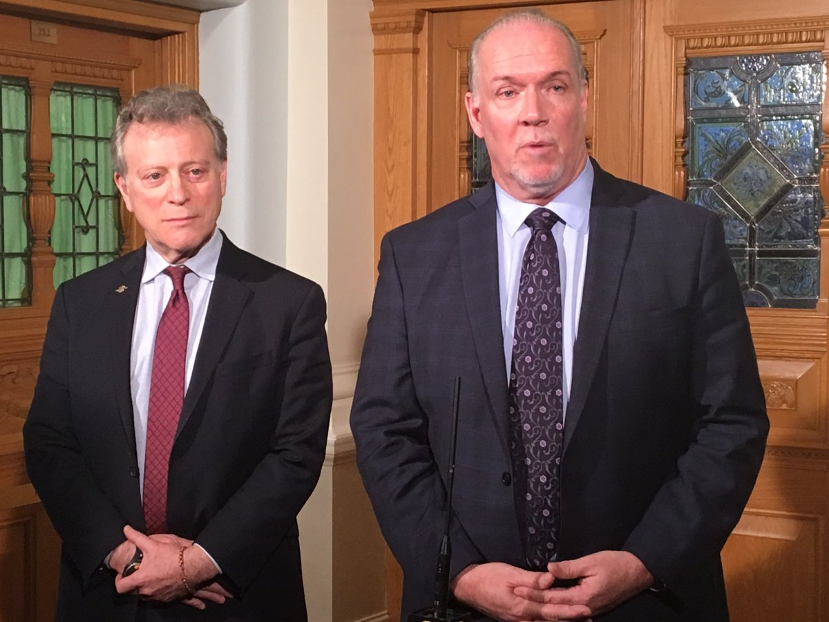 FILE - B.C. Premier John Horgan says his government will work with the B.C. wine industry to ensure Alberta's decision to stop imports does not cause damage.