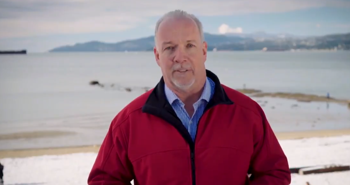 B.C. Premier John Horgan took to Twitter to promote his Tuesday budget and to defend the province in its trade dispute with Alberta.