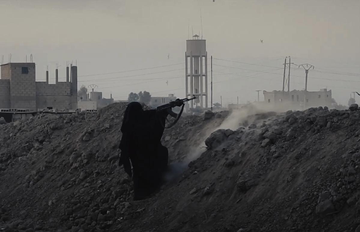 Screenshot from ISIS propaganda video.