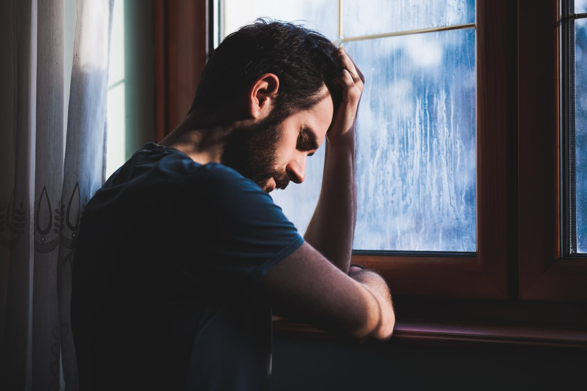 When men cry, only 29 per cent say they confide in their partner, a new survey shows.