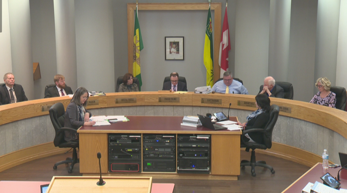 Three Moose Jaw city councillors have been sued by a former city employee who says he was fired after investigating sexual harassment allegations at Mosaic Place.