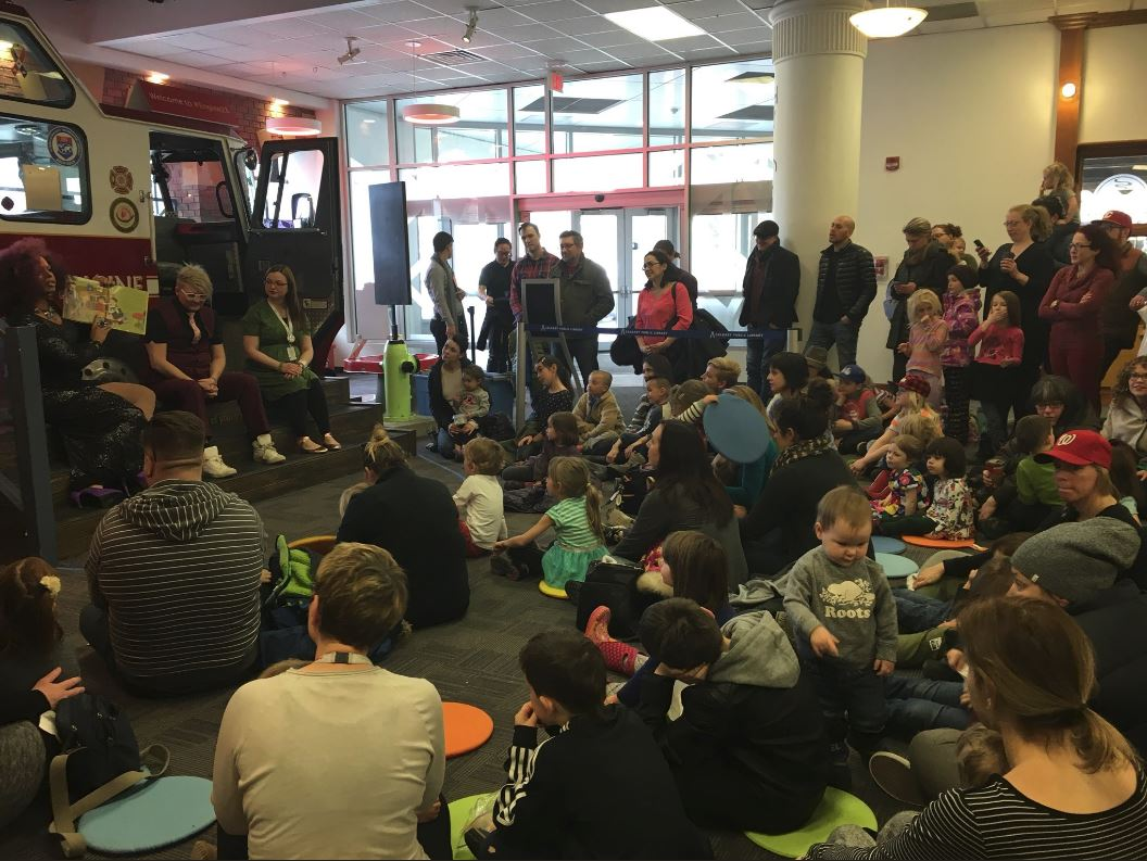 The Calgary Public Library and Calgary Pride launched the first 'Reading with Royalty' program Saturday.