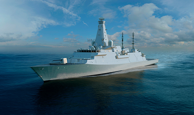 The Type 26 Global Combat Ship.