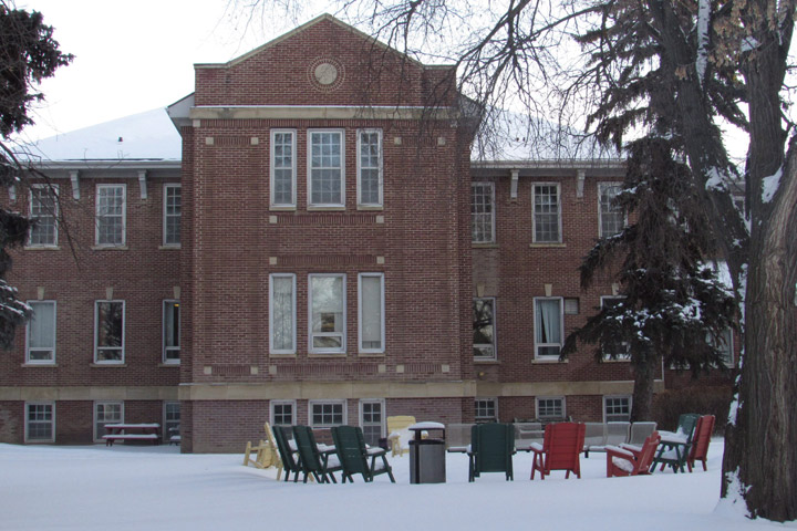 The Saskatchewan Hospital in North Battleford, Sask. is shown on Wednesday, Feb. 6, 2018. The mental hospital, built in 1913, will close later this year.