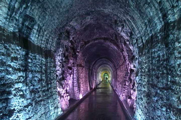 The Brockville Railway Tunnel as seen a few weeks prior to opening in the summer of 2017.