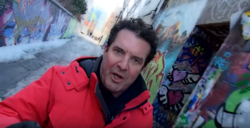 The incident saw CBC personality Rick Mercer take aim at a Facebook post by the Burnaby North Seymour Conservative Riding Association.
