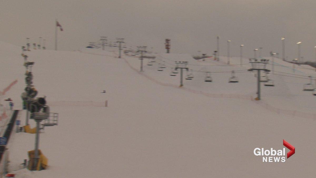 WinSport ski hill in Calgary.