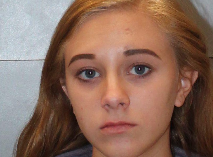 Morgan Roof, 18, was arrested Wednesday, March 14 at A.C. Flora High School after a school administrator contacted the school resource officer, and charged with two counts of carrying a weapon on school grounds and one count of simple possession of marijuana.