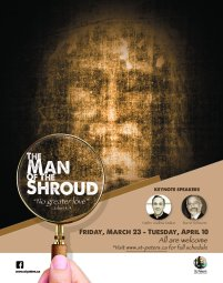 Continue reading: Man of the Shroud Exhibition