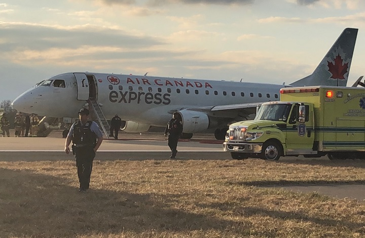 An Air Canada flight was forced to make an emergency landing on Sunday, March 25, due to smoke in the cockpit.