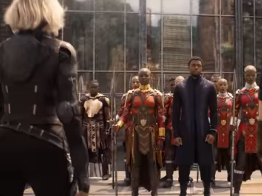 The superheroes assemble in 'Avengers: Infinity War.' Mike Stafford says it's pretty good.