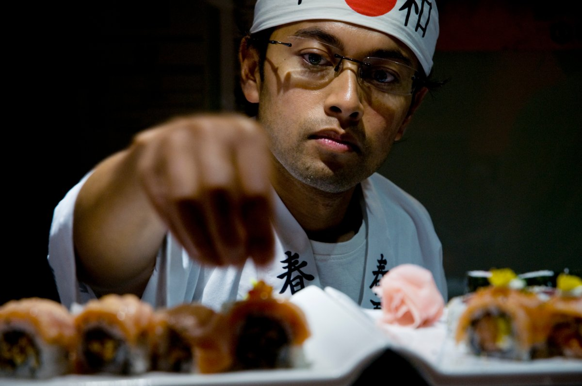 Over 55 per cent of sushi chef jobs have been up on Indeed Canada's website for more than 60 days.