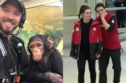 Continue reading: B.C. to build dementia village, rescued baby chimp takes flight and more good news