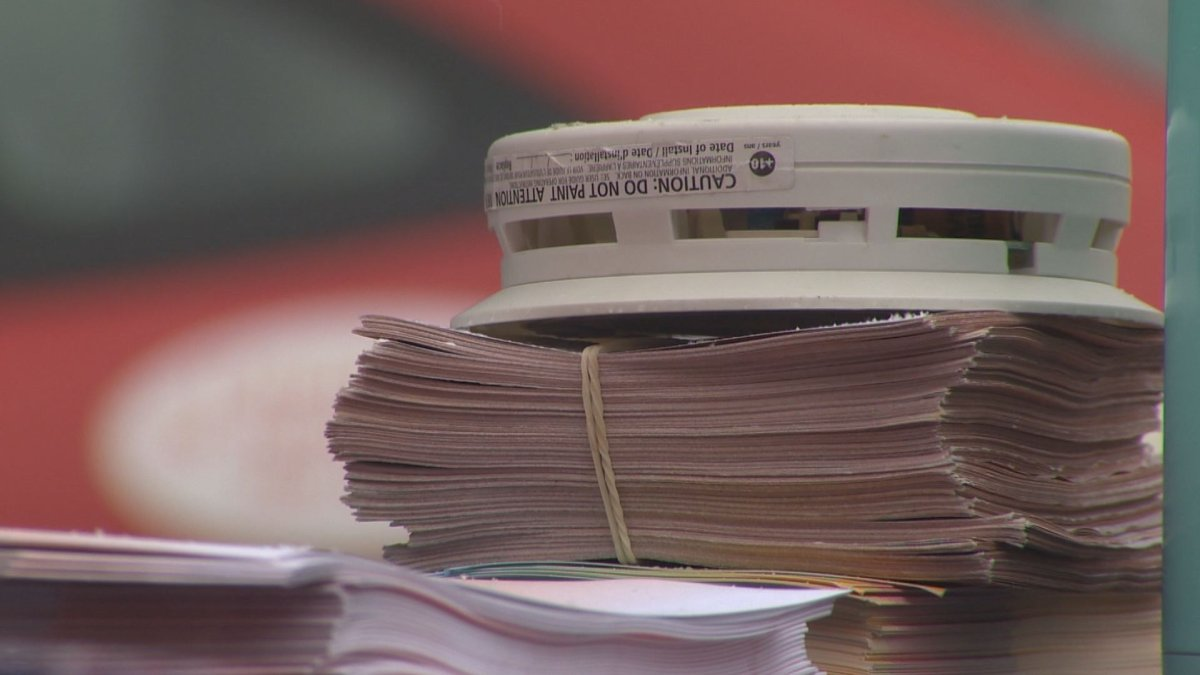 The Montreal Fire Department wants residents to change their smoke alarm batteries twice a year.