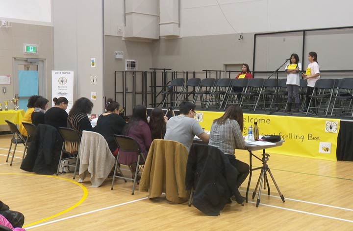 First Nations students from participating schools across Saskatchewan gathered to spend the day in friendly competition.
