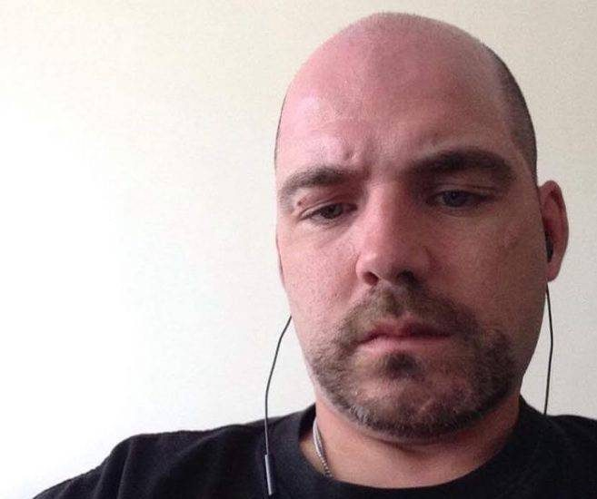 37-year old Lethbridge man Gary Lippa is shown in a photo taken from his Facebook account.  Lippa is facing several sex-related charges involving a 13-year old girl.
