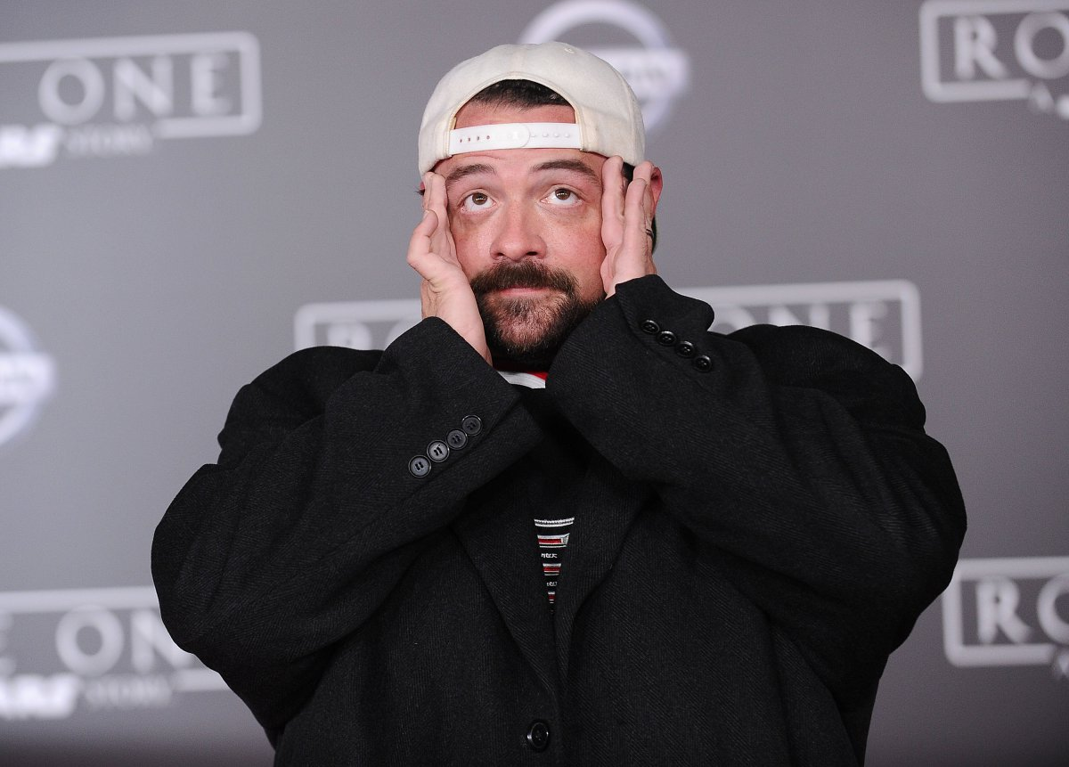 Actor/director Kevin Smith attends the premiere of 'Rogue One: A Star Wars Story' at the Pantages Theatre on Dec. 10, 2016 in Hollywood, California.