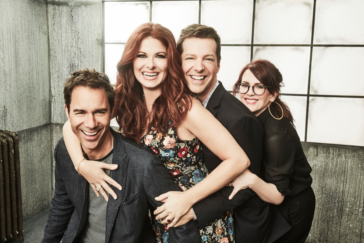 NBCUniversal Portrait Studio, August 2017 -- Pictured: Sean Hayes, Eric McCormack, Debra Messing, Megan Mullally, 'Will & Grace.'.