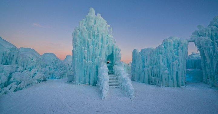 Ice castle to return to Edmonton's Hawrelak Park this winter - Edmonton    Globalnews.ca