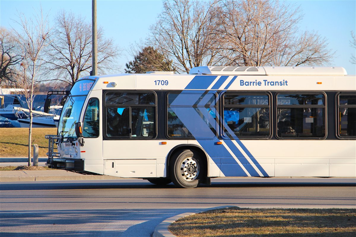 Barrie Transit has been free since March 20, while riders boarded the buses from the back to avoid contact with bus drivers amid the novel coronavirus pandemic.