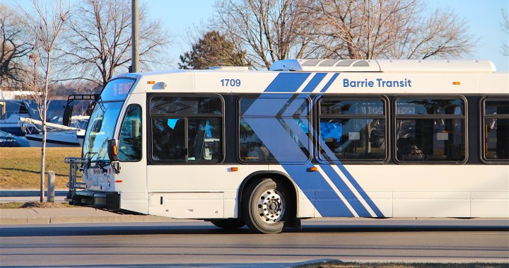 Some Barrie Transit service affected as COVID-19 outbreak expands