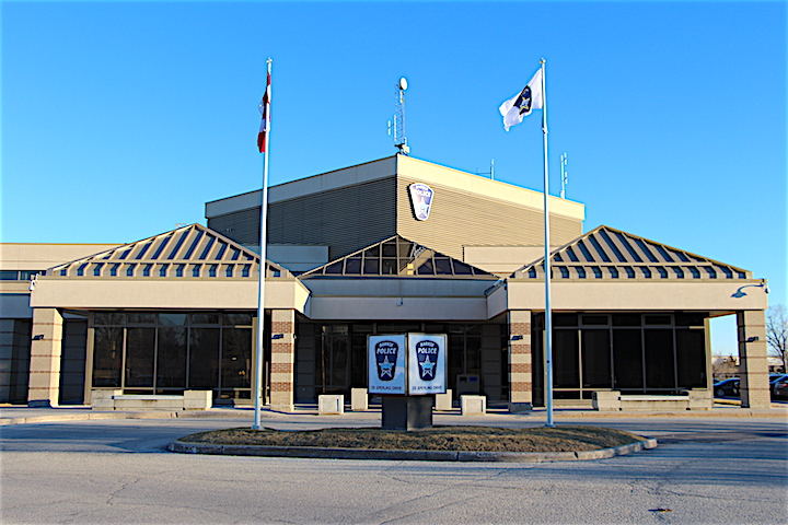 The Barrie Police Service headquarters.