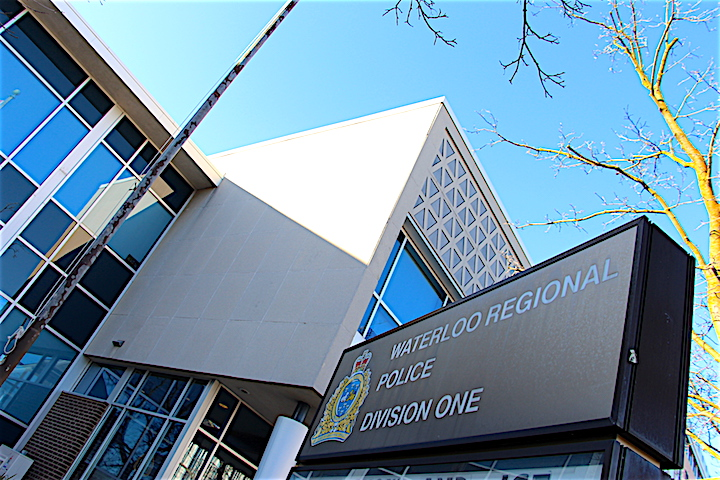 The Waterloo Regional Police Service's station one in Kitchener.