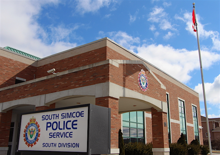 South Simcoe police say the weapons-related charges came after a traffic stop in Bradford West Gwillimbury.