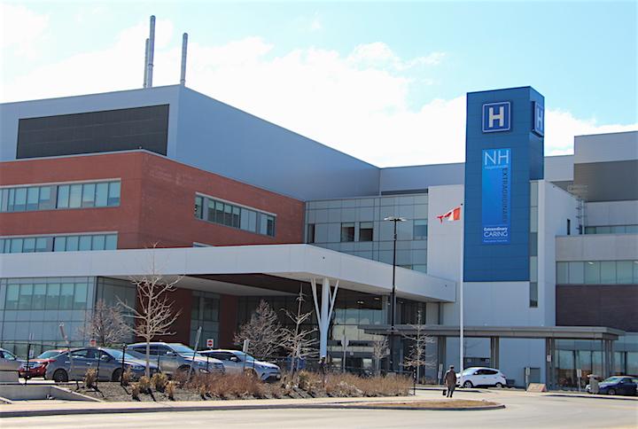The Niagara Health System's St. Catharines Site hospital.