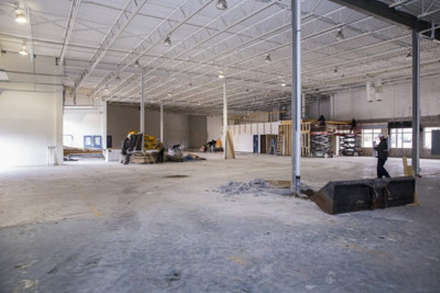AB Labs Phase Two, 40,000 Sq. Ft. Production Facility Under Construction.