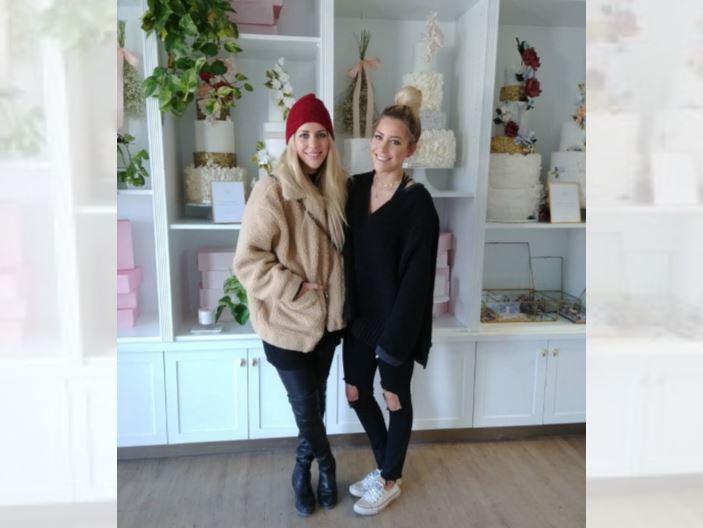 Ashley and Jenna Illchuk, owners of Jenna Rae Cakes.
