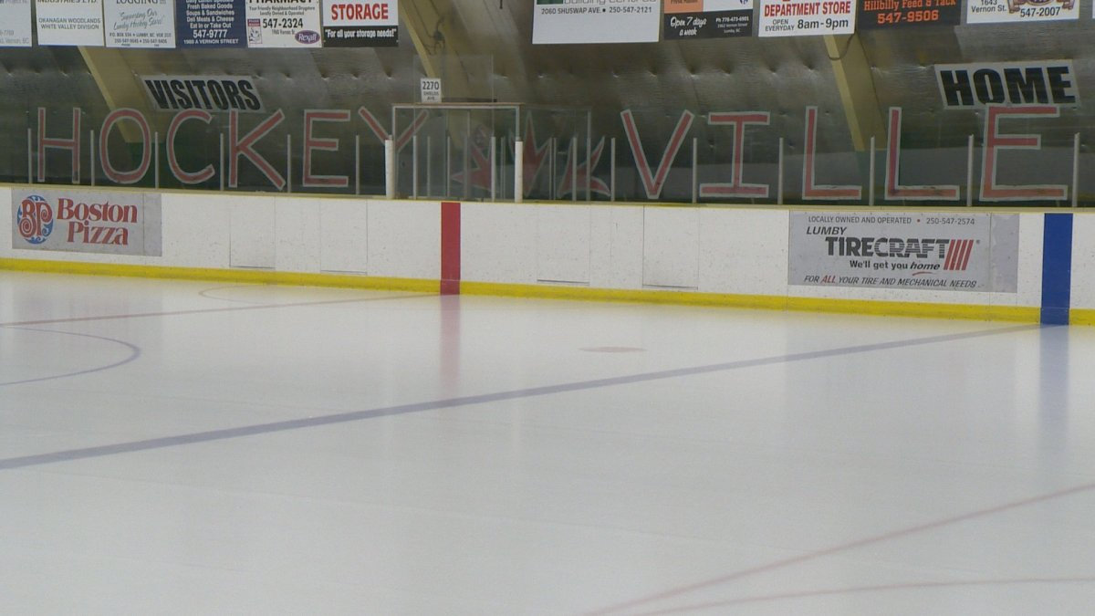 Hockeyville contest winnings help pay for improvements to the Lumby arena.