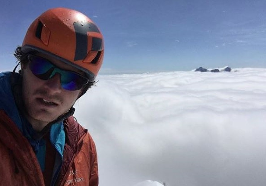 Marc-Andre Leclerc and his  climbing partner have been missing since Monday.