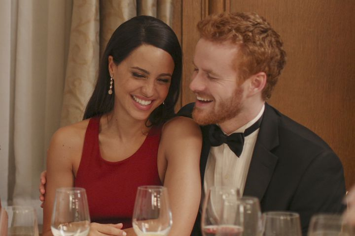 Murray Fraser as Prince Harry and Parisa Fitz-Henley as Meghan Markle.