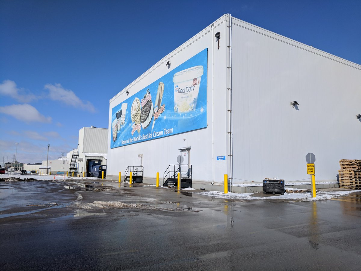 Nestle Canada's factory in London, Ont., as seen March 2018.