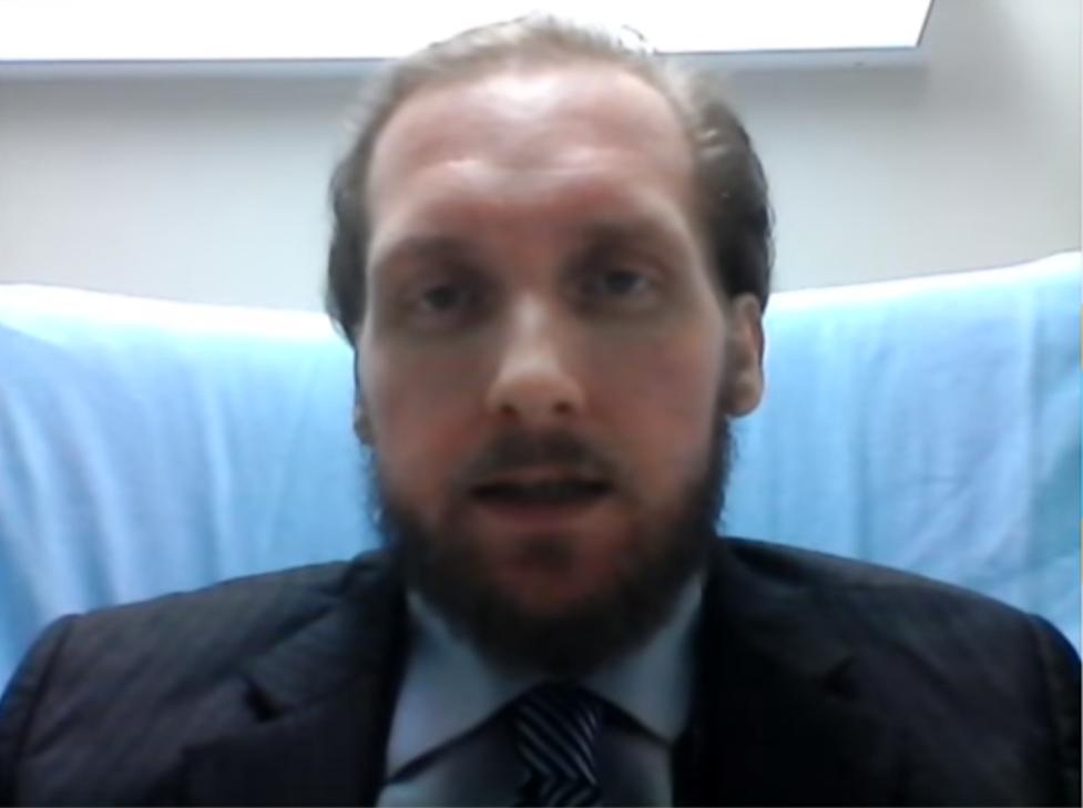 Roger Foley, 42, lives with a neurodegenerative disease known as cerebellar ataxia.