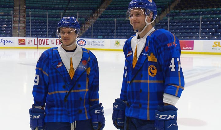 In previous years, the players wore Don Cherry-inspired jerseys, but this year those will be different too — they'll instead be Hockey Night in Canada-themed and each team will design their own.