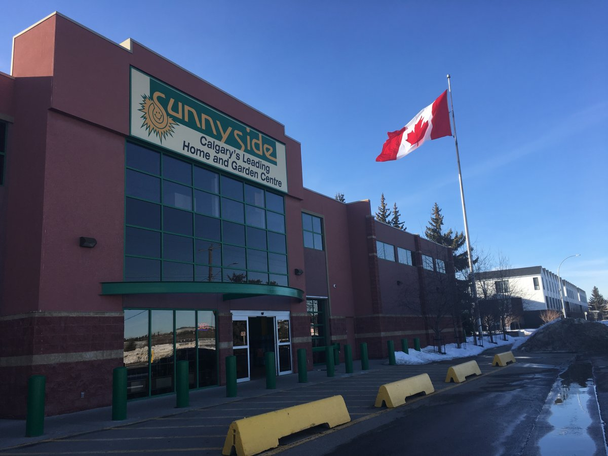 Sunnyside Greenhouses Ltd. is a family-owned business that has been in Calgary for 100 years.