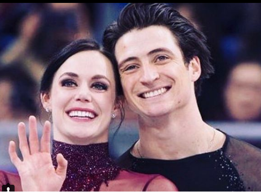 Virtue won two gold medals at the Pyeongchang Olympics alongside her partner Scott Moir.